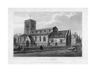 St Giles's Church, Oxford, 1834