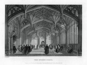 The Divinity School, Oxford, 1837 by John Le Keux