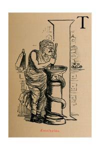 'Aesculapius', 1852 by John Leech