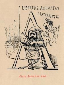 'Civis Romanus sum', 1852 by John Leech