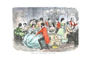 'Foxhunters Regaling in the Present Degenerate Days', c1856 by John Leech