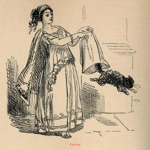 'Fulvia', 1852 by John Leech