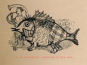 'In all probabilty something of this sort', 1852 by John Leech