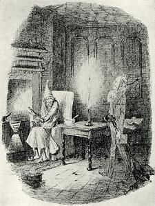 Marley's Ghost by John Leech