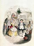 Fezziwig's Ball - a Christmas Carol, 1843-John Leech-Giclee Print