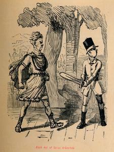 'Rash Act of Gaius Gracchus', 1852 by John Leech