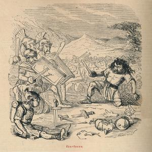 'Spartacus', 1852 by John Leech