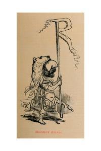 'Standard Bearer', 1852 by John Leech