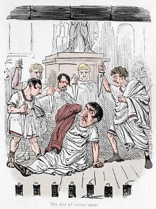 'The End of Julius Caesar', 1852 by John Leech