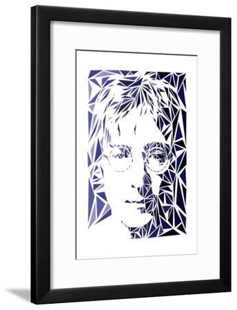 John Lennon-Cristian Mielu-Framed Art Print