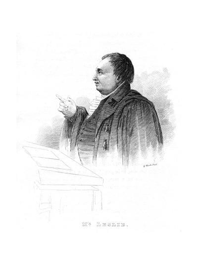 John Leslie (1766-183), Scottish Natural Philosopher and Physicist, Lecturing, 19th Century--Giclee Print