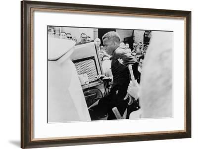 John Lewis Being Arrested in Civil Rights Protest in Nashville, April 29, 1964--Framed Photo