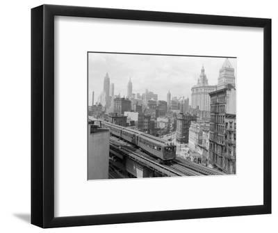Third Avenue EL, New York, New York