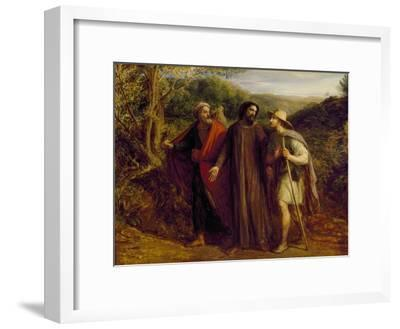 Christ's Appearance to the Two Disciples Journeying to Emmaus, 1835