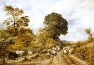 Country Road by John Linnell