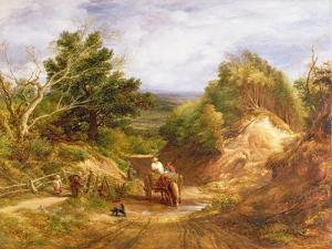 Crossing the Brook by John Linnell