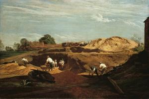 Kensington Gravel Pits by John Linnell