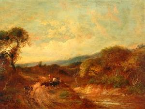 Near Red Hill, Surrey by John Linnell