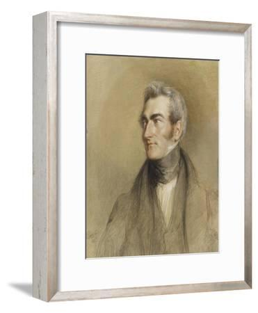 Portrait of Chambers Hall, 1835