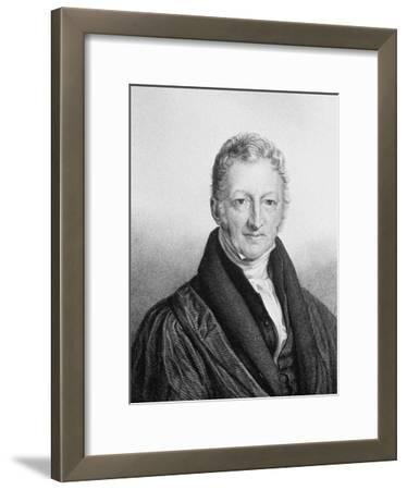 Portrait of Thomas Robert Malthus (1766-183)