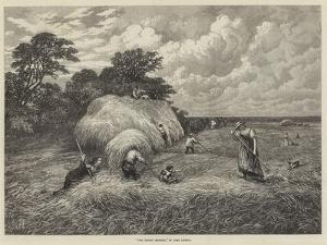 The Barley Harvest by John Linnell