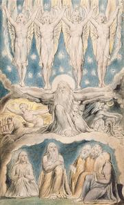 The Creation, Page 14 from 'Illustrations of the Book of Job' after William Blake (1757-1827) by John Linnell