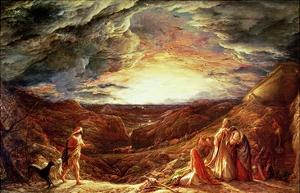 The Eve of the Deluge by John Linnell