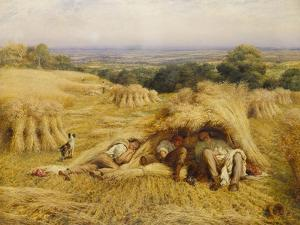 The Noonday Rest by John Linnell