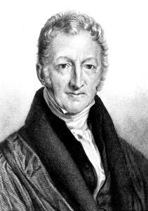 Thomas Robert Malthus, English Economist and Clergyman by John Linnell