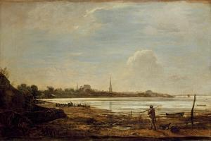View of Southampton, 1819 by John Linnell