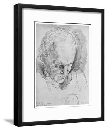 William Blake, English Mystic, Poet, Artist and Engraver, 19th Century