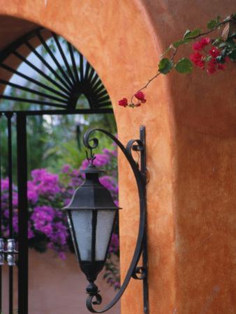 Adobe House Entry, Puerto Vallarta, Mexico by John & Lisa Merrill