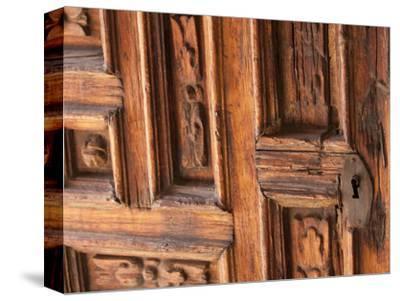 Carved Wooden Door, San Miguel De Allende, Mexico