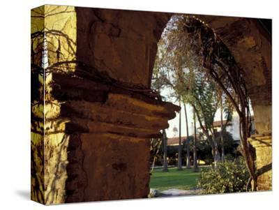 Courtyard of Mission San Juan Capistrano, California, USA