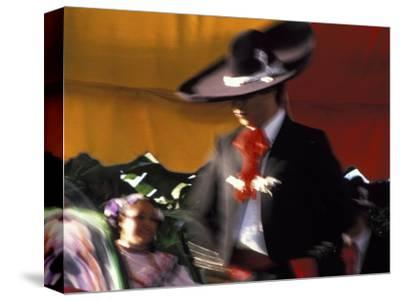 Dancers Perform Traditional Mexican Dance, San Diego, California, USA