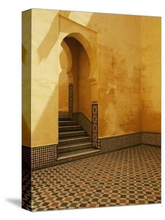 Interior Coutyard of Moulay Ismail Mausoleum