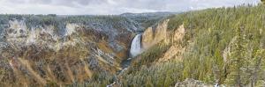 Lower Falls in fall, Yellowstone National Park, Wyoming by John & Lisa Merrill
