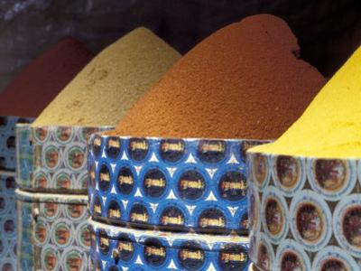Spices in the Market, Morocco