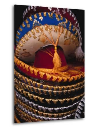 Stack of Sombreros For Sale, Puerto Vallarta, Mexico