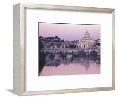 Tiber River and St. Peter's Basilica