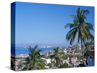 View of Downtown Puerto Vallarta and the Bay of Banderas, Mexico