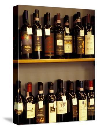 Wine Display, Pienza, Tuscany, Italy