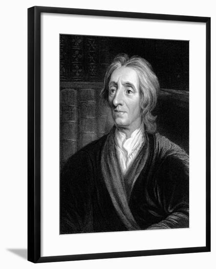John Locke, English Philosopher, C1680-1704-Godfrey Kneller-Framed Giclee Print