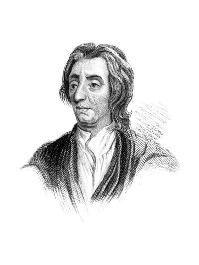 John Locke, English Philosopher--Giclee Print