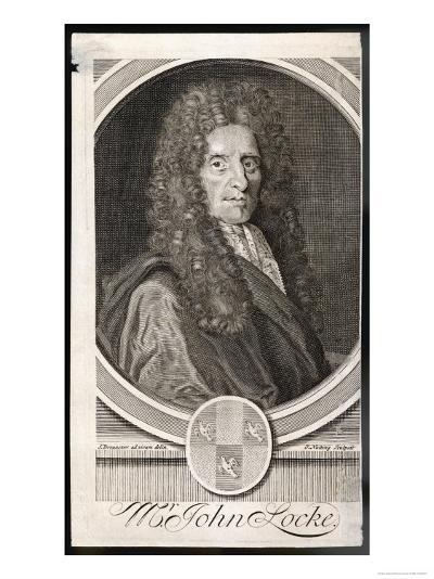 John Locke Philosopher--Giclee Print