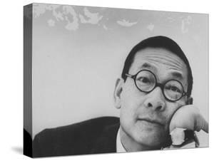 Architect Ieoh Ming Pei, Selected to Design the JFK Memorial Library by John Loengard