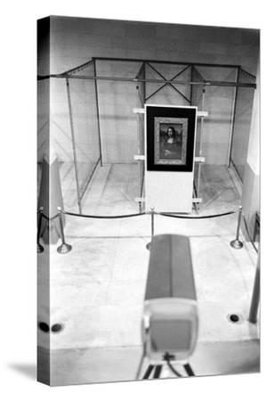 Mona Lisa on Loan to Usa Hanging in Vault at the National Gallery of Art. Washington D.C., 1962