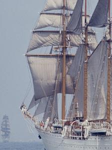 Operation Sail in New York Harbor by John Loengard