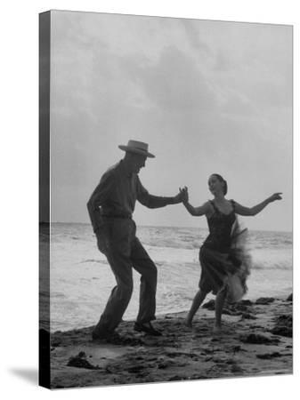 Rumba Danced by Director George Abbott and Dance Teacher Lilyan Martin