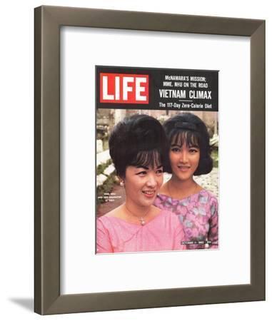 Vietnam's Madame Nhu and Daughter, October 11, 1963